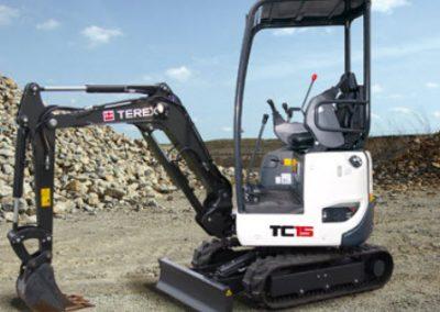 terex tc15 hire london