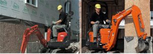 kubota k008 hire london