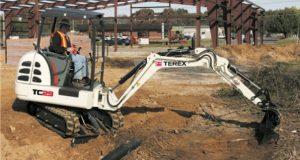 Terex TC29 digger hire london