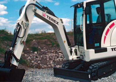 Terex TC29 digger hire london