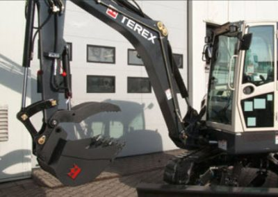 terex tc50 digger hire london