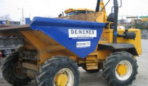 dumper hire london